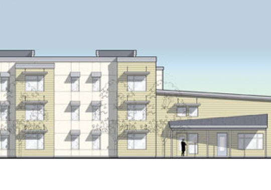 Grace Commons Apartments Drawing