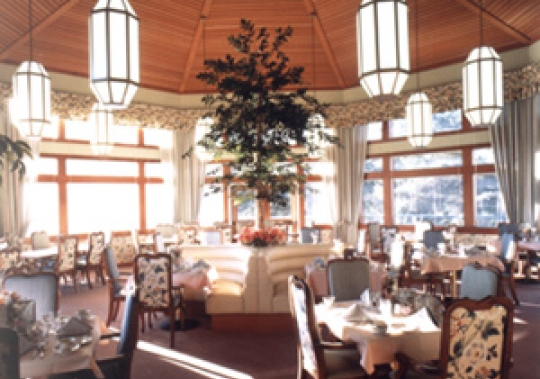 Dominican Oaks Dining Area