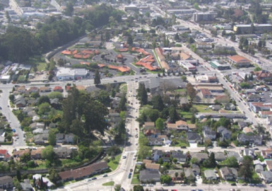 Santa Cruz Professional Plaza Aerial View