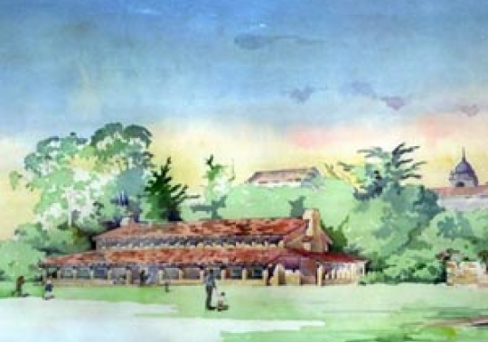 Carmel Mission Multipurpose Building Drawing