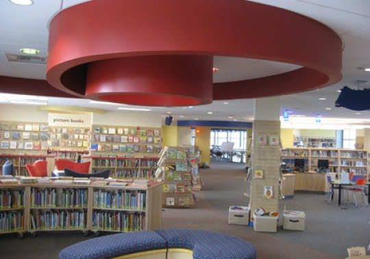 Cambrian Branch Library Interior