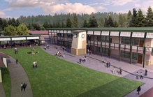 San Lorenzo Valley Junior High School Remodel Rendering